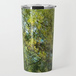 Tree By The Water With Scripture Quote Travel Mug