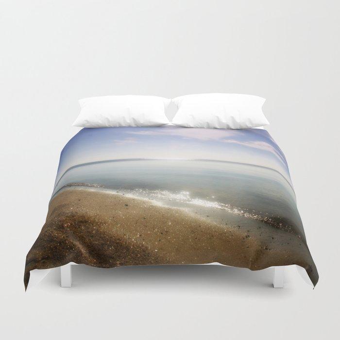 Ocean Glitter Duvet Cover