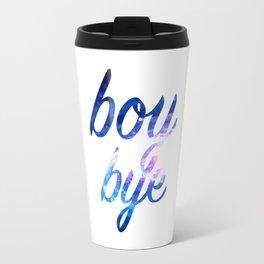 Boy Bye Abstract Travel Mug