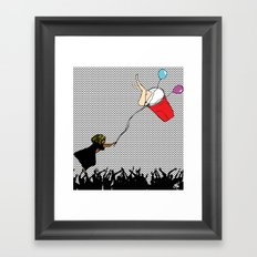 My Cup Framed Art Print