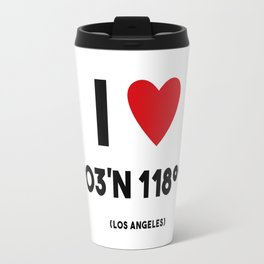 I LOVE LOS ANGELES Travel Mug