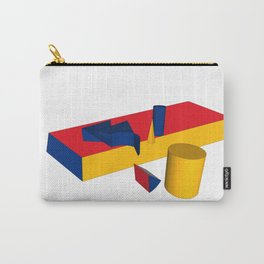geometric primary colours Carry-All Pouch