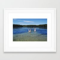 cape cod Framed Art Prints featuring Cape Cod by Maria K Reali
