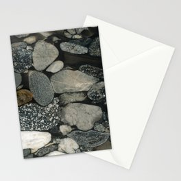 Marble Pebbles Stationery Cards