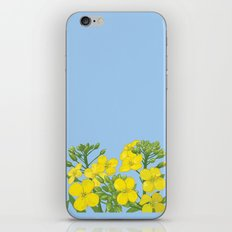 Summer flower in yellow iPhone & iPod Skin