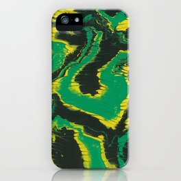 Jamaican colors iPhone Case