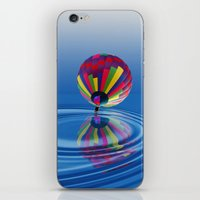 balloon iPhone & iPod Skins featuring Balloon  by Kathleen Stephens