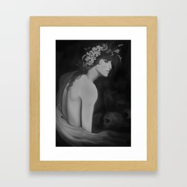 The Rebirth of Jacinto Framed Art Print