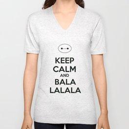 Keep Calm and Balala Unisex V-Neck