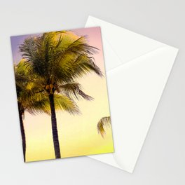PURPLE AND GOLD SKIES 3 Stationery Cards