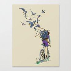 TweetJourney Canvas Print