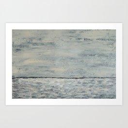 Gray Seas Art Print