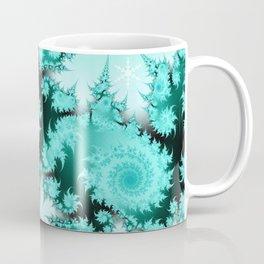 Winter magic in soft blue Coffee Mug