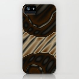 treaded reality iPhone Case