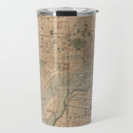 Vintage Map of Richmond Virginia (1876) Travel Mug