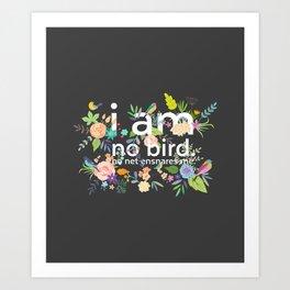 Jane Eyre - I Am No Bird Art Print