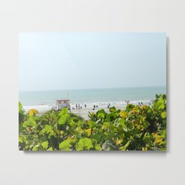 Jetty Park Beach Metal Print