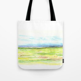 Sea meadow Tote Bag