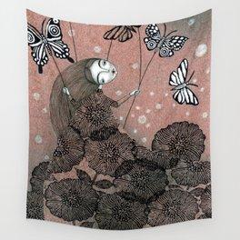 Night Garden (1) Wall Tapestry