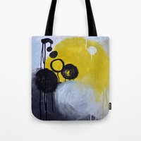 Tote Bags featuring Etude No. 1 by Prelude Posters