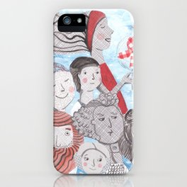 Breezy Parade iPhone Case