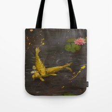 Peaceful Koi Tote Bag