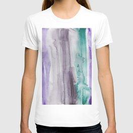 11    190907   Watercolor Abstract Painting T-shirt