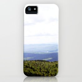 Summer Mountains iPhone Case