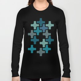 eulb egatniv Long Sleeve T-shirt