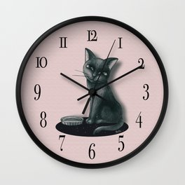 Hungry Wall Clock