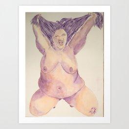 Exuberance Art Print