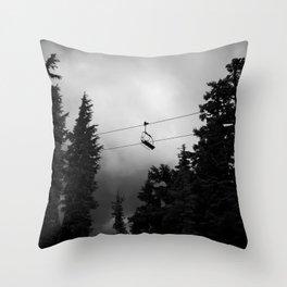 Magic Mile Throw Pillow