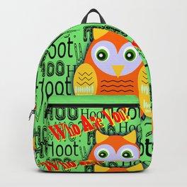 Hoo Are You? Backpack