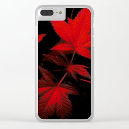 DaPlant - Red --- #GREENRUSH Clear iPhone Case