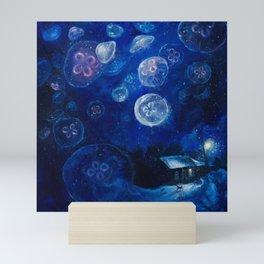 It's Jellyfishing Outside Tonight Mini Art Print