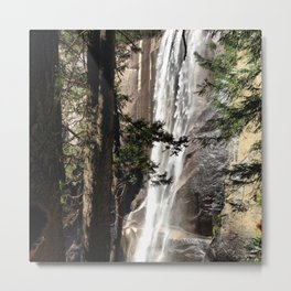 Vernal Fall - Yosemite Metal Print
