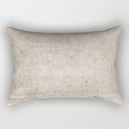 The Magna Carta 0f 1215 Rectangular Pillow
