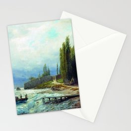 Landscape 1871 By Lev Lagorio | Reproduction | Russian Romanticism Painter Stationery Cards