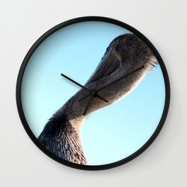 Looking Forward Wall Clock