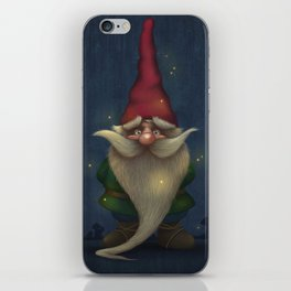 Old Christmas Gnome iPhone Skin