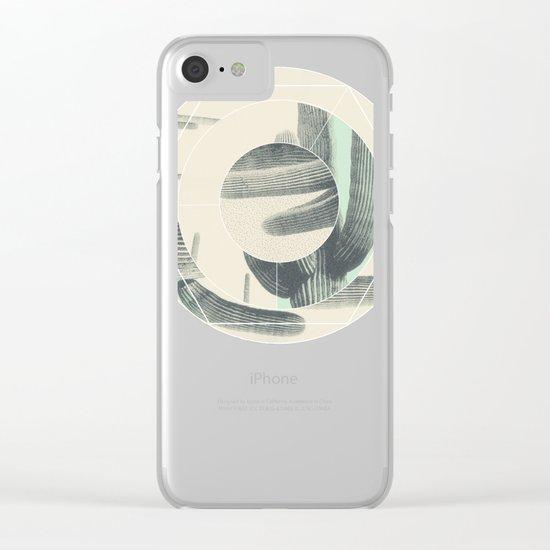 Saguaro Sun Clear iPhone Case