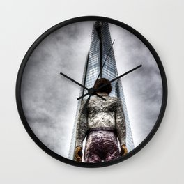 The Shard and the Man Wall Clock