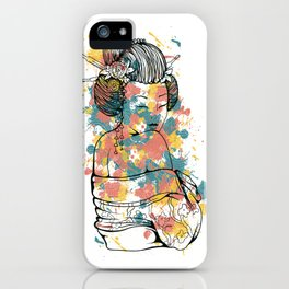 Secrets of the Geisha - Beautiful Chinese Girl iPhone Case