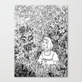 The Flower's Advice Canvas Print