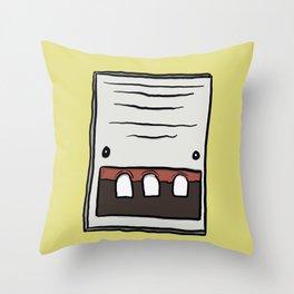 Intercom Throw Pillow