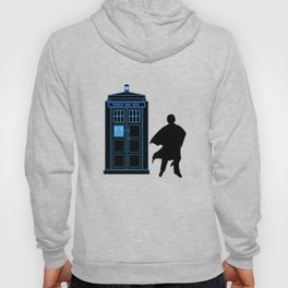 Tardis With The Third Doctor Hoody