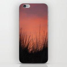 The Orange Sky. iPhone & iPod Skin