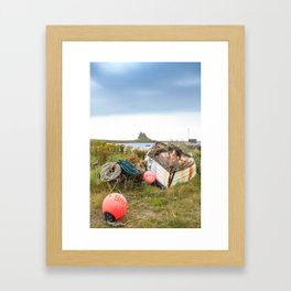 Overturned Framed Art Print