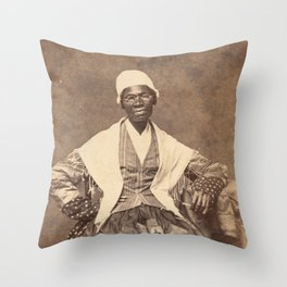 Sojourner Truth Vintage Photo, 1863 Throw Pillow
