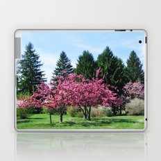 Crab Apple Trees Laptop & iPad Skin